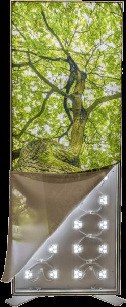 LUCE-SIGN Leuchtkasten - einseitig oder Wandmontage