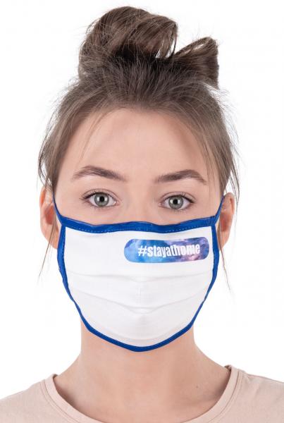 Mund- und Nasenschutz mit Nasenbügel