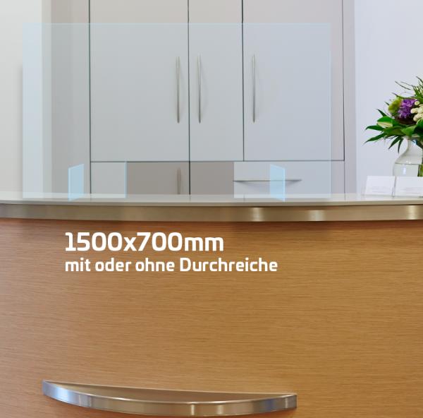 Husten- und Niesschutz 1500x700mm
