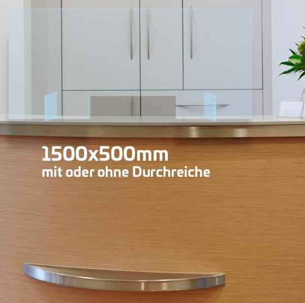 Husten- und Niesschutz 150x50cm