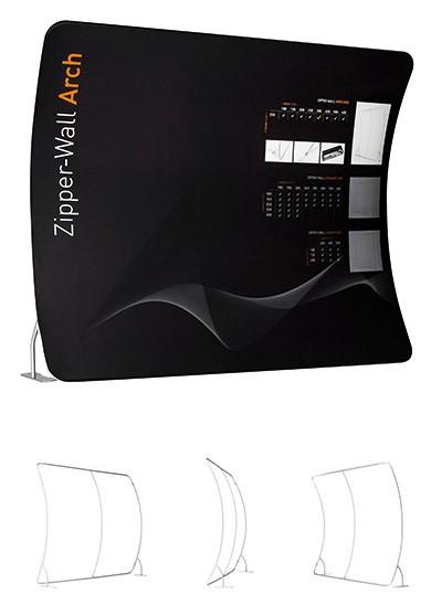 Zipper-Wall Arch