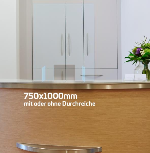 Husten- und Niesschutz 75x100cm